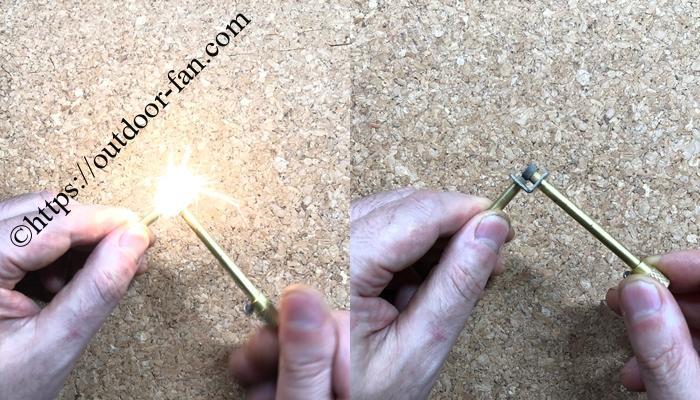 スパークイグナイターの使用方法